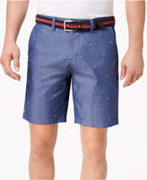 """Tommy Hilfiger Men's Paul Checker-Embroidered 9"""" Shorts, Created for Macy's"""