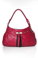 Marc by Marc Jacobs Pink Leather Zip Top Shoulder Handbag