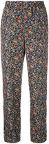 Isabel Marant floral print trousers - women - Silk - 36