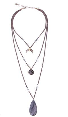 Nakamol Chicago Triple Layered Necklace