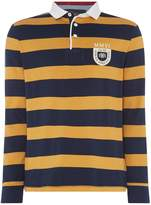 Howick Men's Montgomery Stripe Long Sleeve Rugby Shirt