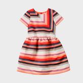 Paul Smith Girls' 7+ Years 'Sunray Stripe' Satin Dress