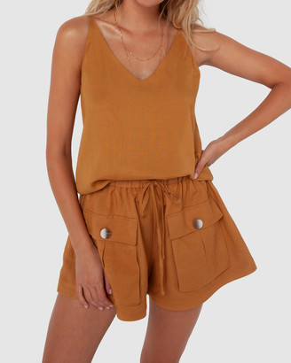 Madison The Label - Women's High-Waisted - Calli Shorts - Size One Size, 6 at The Iconic