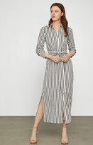 BCBGMAXAZRIA Striped Shirt Dress