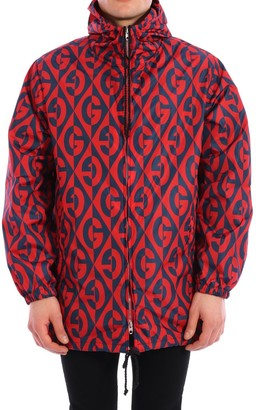 Gucci Hooded Windproof Jacket