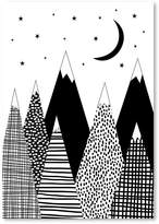 Americanflat Mountain Print Art, Print Only