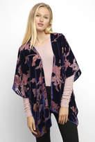 Angie Velvet Burnout Kimono