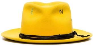 Nick Fouquet Kane compass print fedora hat