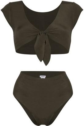 ACK Marina tie-detail reversible bikini