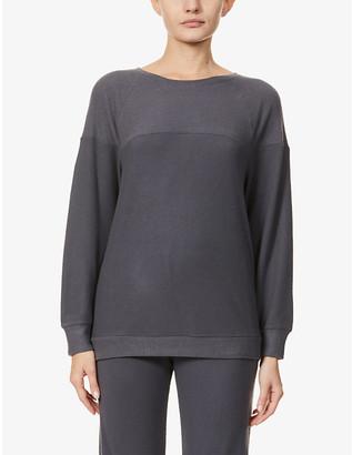 Eberjey Cosy Time stretch-knit sweatshirt