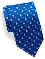 Salvatore Ferragamo Turtle Printed Tie