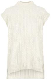 Pieces Beige Knitted Vest - L | beige - Beige