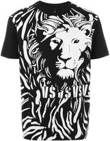 Versus lion print T-shirt - men - Cotton - M