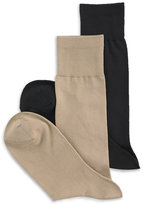 Perry Ellis Men's Socks, Microluxe Flat Knit Men's Socks