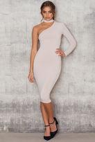 Nookie Girl Talk One Shoulder Midi Dress