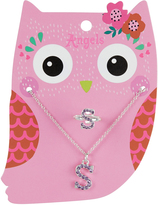 Accessorize Ellen Owl S Jewellery Set