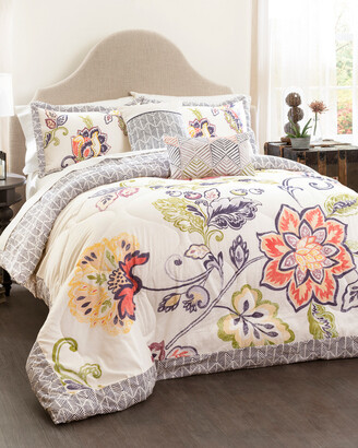 Triangle Home Fashion Aster 5Pc Quilted Comforter Set