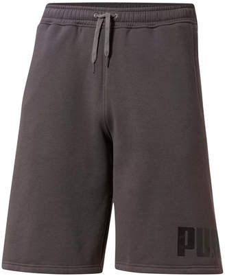 Puma Men Logo Fleece Shorts