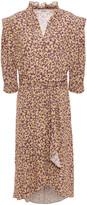 Thumbnail for your product : BA&SH Chelsea Wrap-effect Floral-print Crepe Dress
