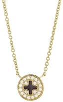 Sydney Evan Pavé Diamond Screw Necklace