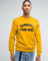 HUF Sweatshirt With Downhill Print