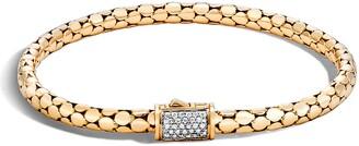 John Hardy Dot Diamond Chain Bracelet