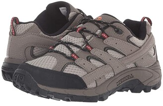 Merrell Moab 2 Low Lace (Little Kid) (Bark Brown) Boys Shoes