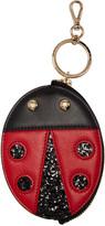 Charlotte Olympia Black Bug Keychain