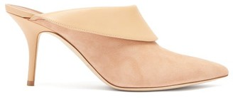 Malone Souliers Tilly Suede-leather Mules - Womens - Nude