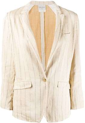 Forte Forte striped lightweight blazer