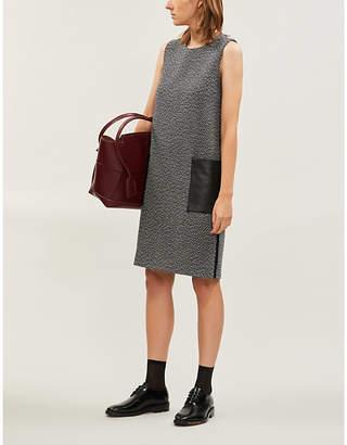 Max Mara Perim sleeveless relaxed-fit wool mini dress
