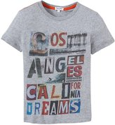 Splendid Graphic Tee (Toddler/Kid) - Grey Heather-14