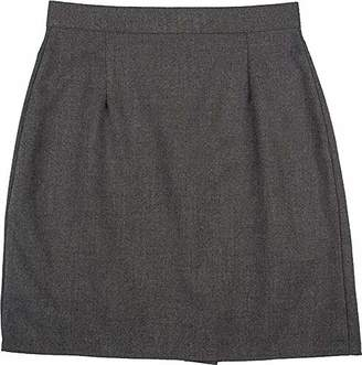 """Only Global Girls Ladies A Line Plain Pencil Skirt (w 28"""" - L 18"""")"""