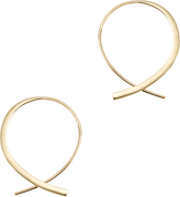 Lana Forward Upside Down Hoops