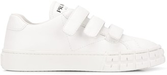 Prada touch strap low-top sneakers