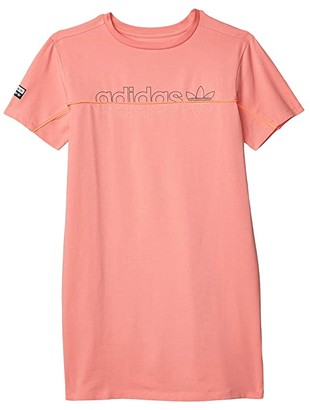 Adidas Originals Kids RYV Dress (Little Kids/Big Kids) (Tactile Rose) Girl's Clothing