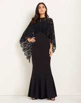 Lipsy Cape Maxi Dress