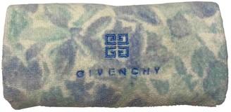 Givenchy Blue Cotton Textiles
