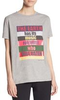 Etro Earth Music Quote Tee