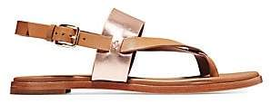 Cole Haan Women's Anica Leather Slingback Thong Sandals