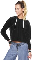 Juicy Couture Outlet - BEHATI X VELOUR HOOD PULLOVER