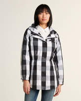 Calvin Klein Buffalo Plaid Trench Coat