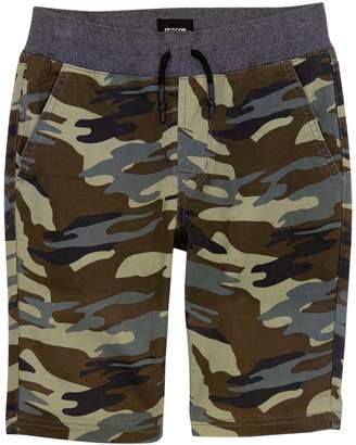 Hudson Jeans Campbell Camo Stretch Twill Shorts (Big Boys)
