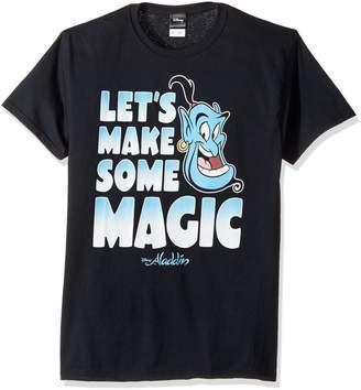 Disney Men's Aladdin Genie Let's Make Some Magic Graphic T-Shirt