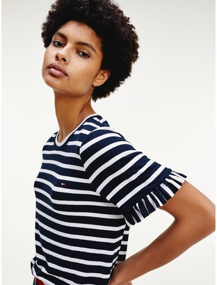 Tommy Hilfiger Relaxed Fit Stripe T-Shirt