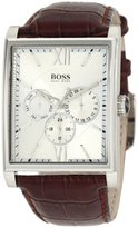 HUGO BOSS Chronograph Leather Strap Quartz Mens Watch H2003-1512402