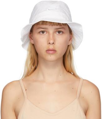 Nike White NSW Bucket Hat
