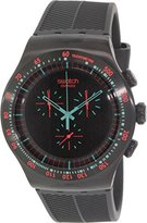 Swatch Men's YOB105 Stainless Steel Dial Chronograph Watch
