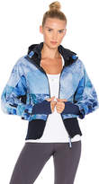 adidas by Stella McCartney Run Trail Jacket in Blue. - size L (also in M,S,XS)