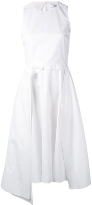 Chalayan layered A-line sleeveless dress